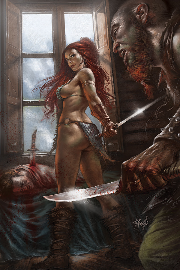 RED SONJA BIRTH OF SHE DEVIL #2 PARILLO VIRGIN CVR