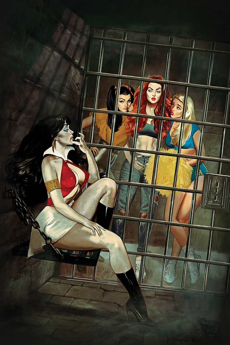RED SONJA VAMPIRELLA BETTY VERONICA #3 DALTON VIRGIN