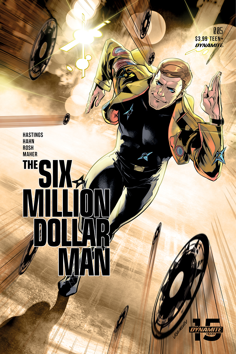 SIX MILLION DOLLAR MAN #5 CVR C GEORGIEV