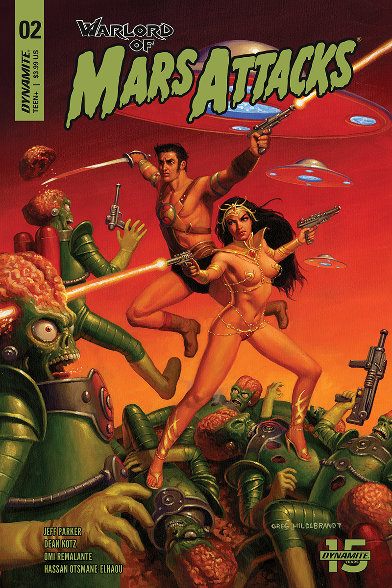WARLORD OF MARS ATTACKS #2 CVR A HILDEBRANDT