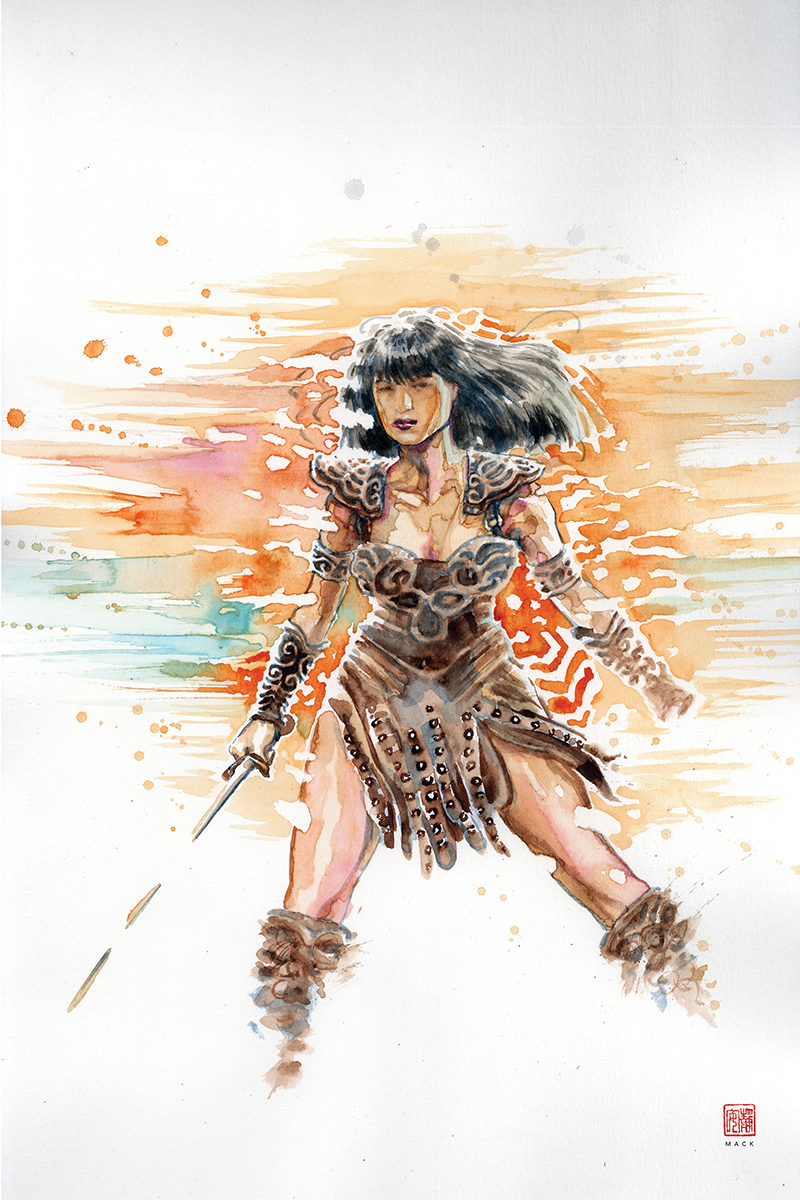 XENA WARRIOR PRINCESS #4 10 COPY MACK VIRGIN INCV