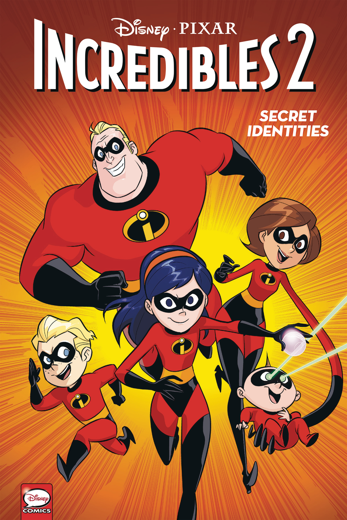 DISNEY PIXAR INCREDIBLES 2 TP VOL 02 SECRET IDENTITIES