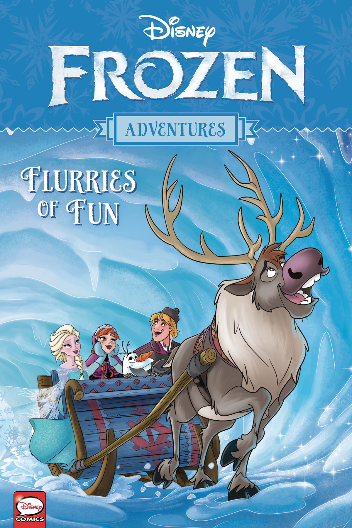 DISNEY FROZEN ADVENTURES TP FLURRIES OF FUN