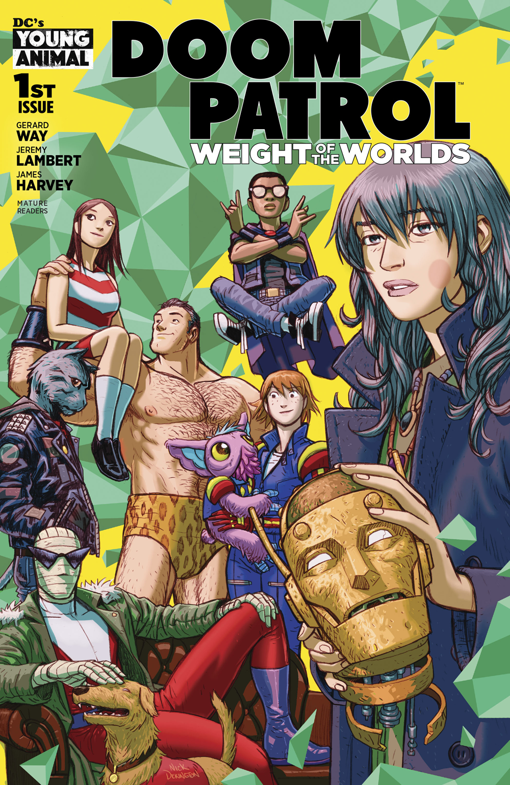 DOOM PATROL WEIGHT OF THE WORLDS #1 (MR)