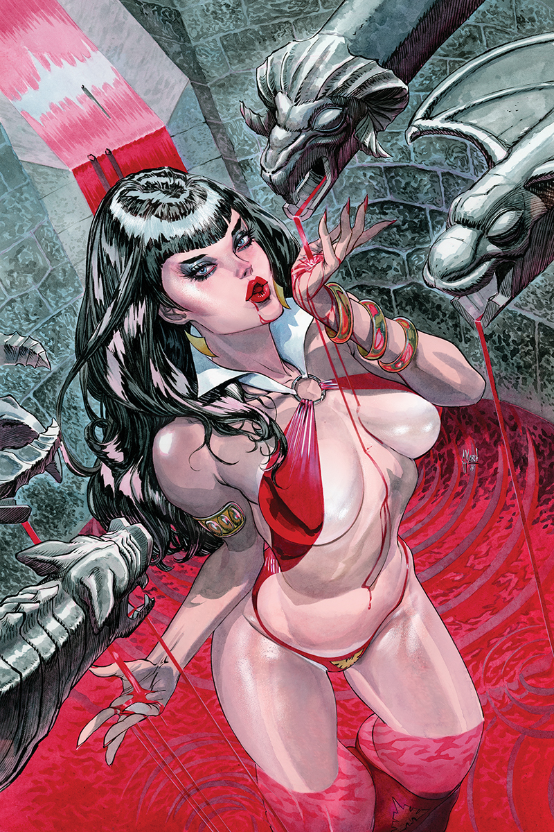 VAMPIRELLA #1 40 COPY MARCH VIRGIN INCV