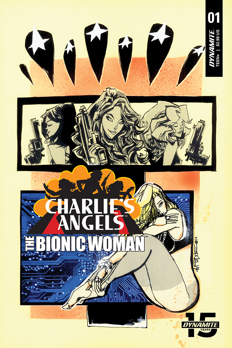 CHARLIES ANGELS VS BIONIC WOMAN #1 CVR B MAHFOOD