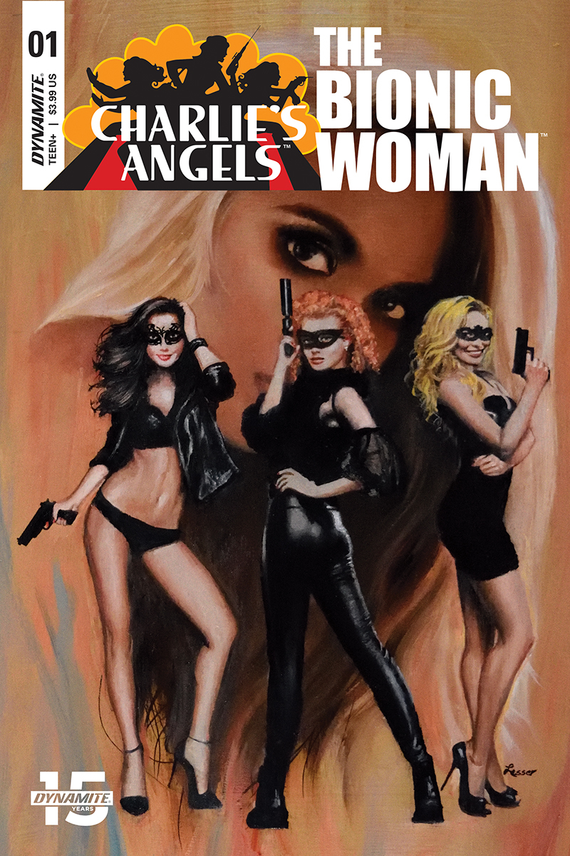 CHARLIES ANGELS VS BIONIC WOMAN #1 CVR C LESSER