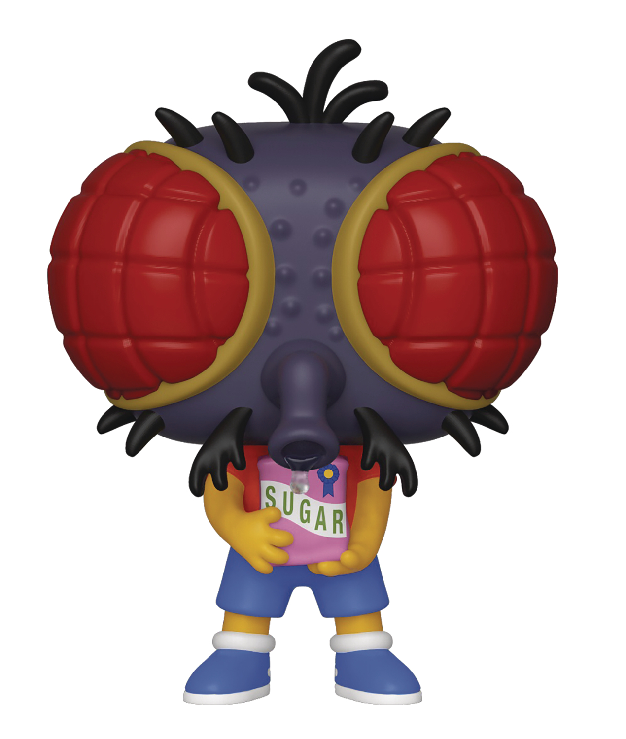 POP ANIMATION SIMPSONS BART FLY VIN FIG