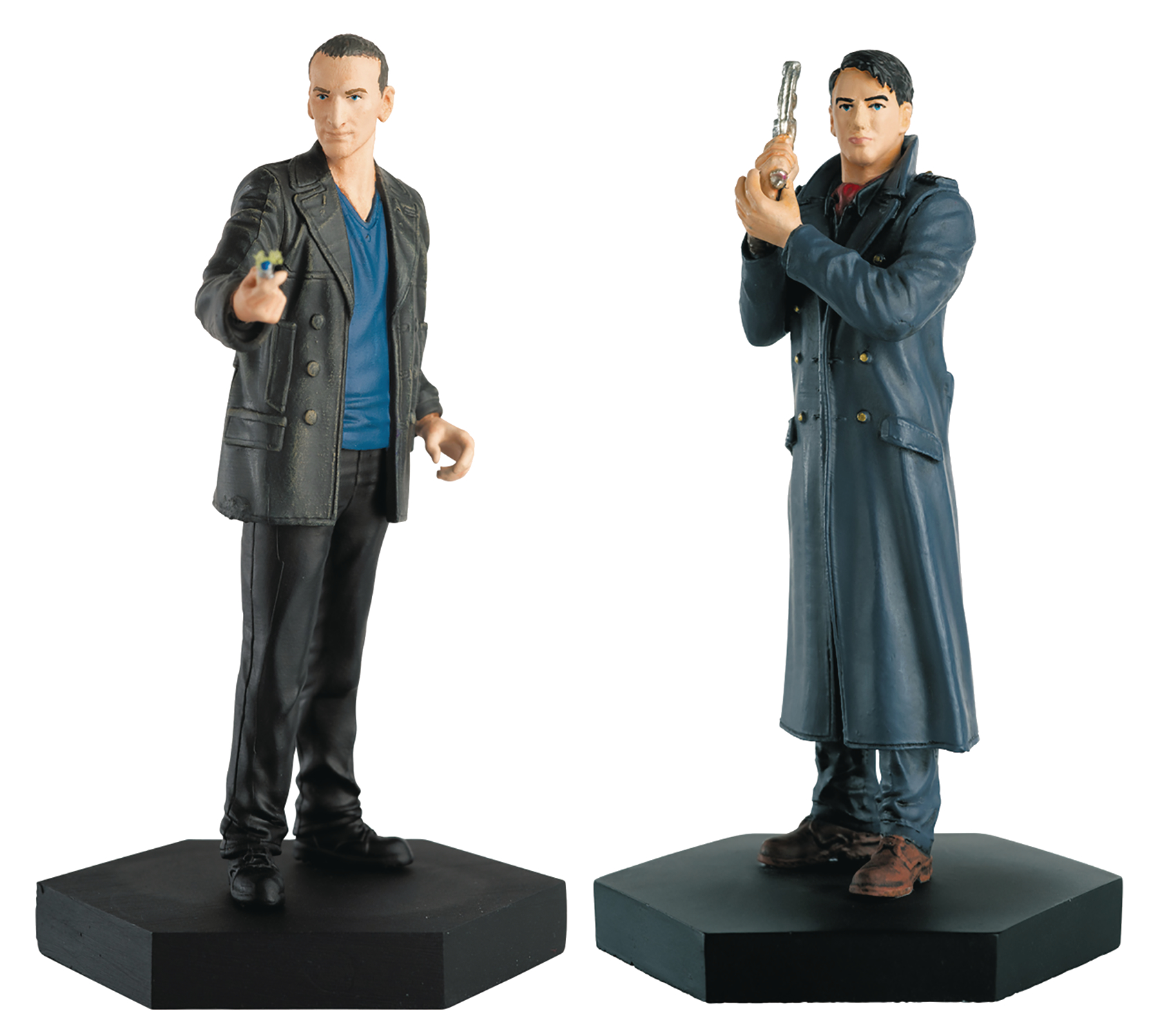DOCTOR WHO FIG COLL COMPANION SET #5 NINTH DOCTOR & JACK HAR