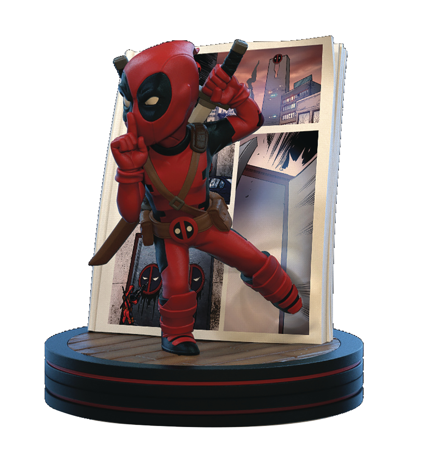 MARVEL DEADPOOL 4D Q-FIG DIORAMA FIGURE