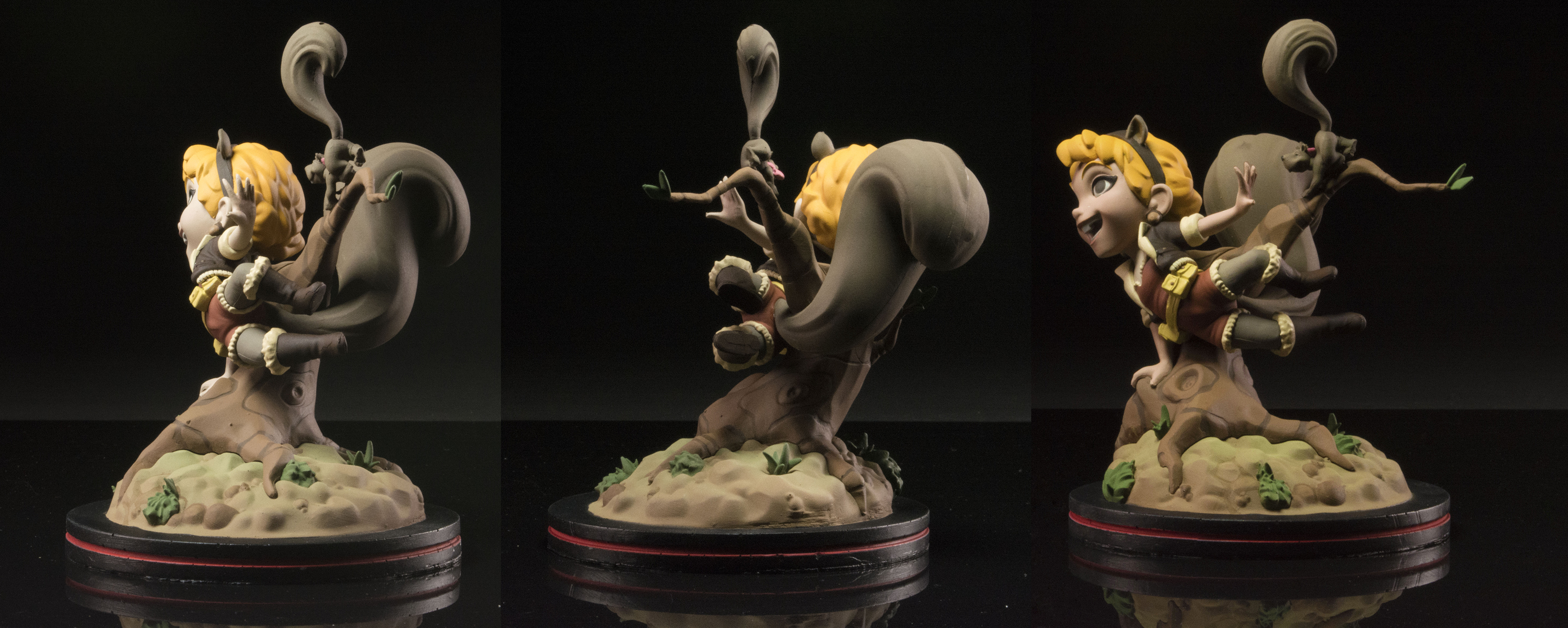 MARVEL SQUIRREL GIRL Q-FIG DIORAMA FIGURE