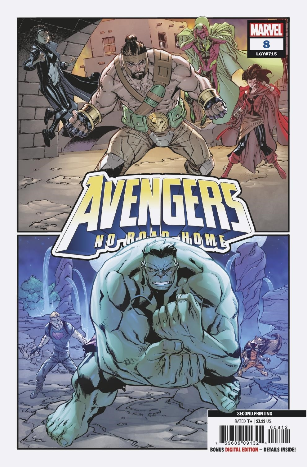 AVENGERS NO ROAD HOME #8 (OF 10) 2ND PTG BARBERI VAR