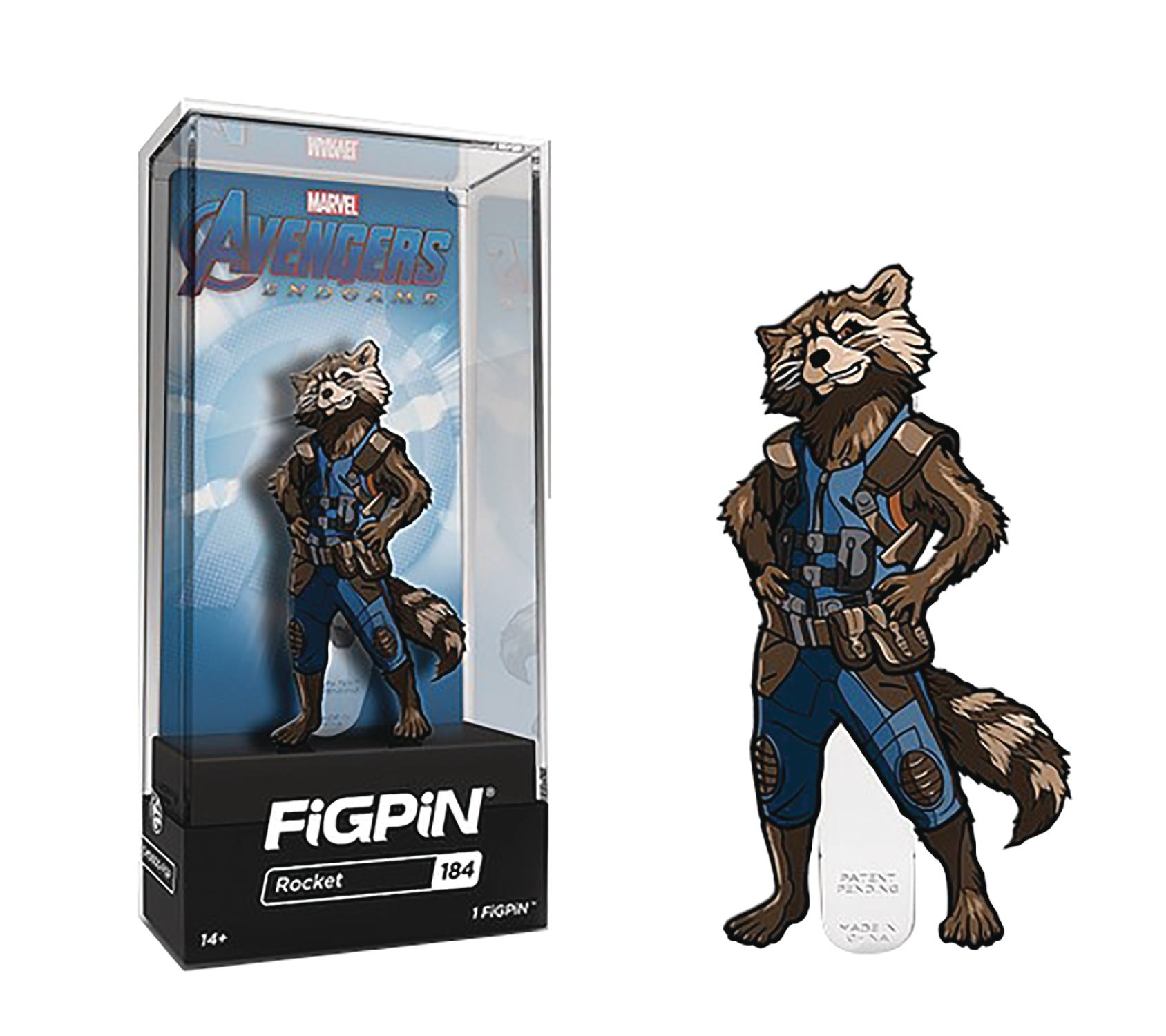 FIGPIN AVENGERS ENDGAME ROCKET RACCOON PIN
