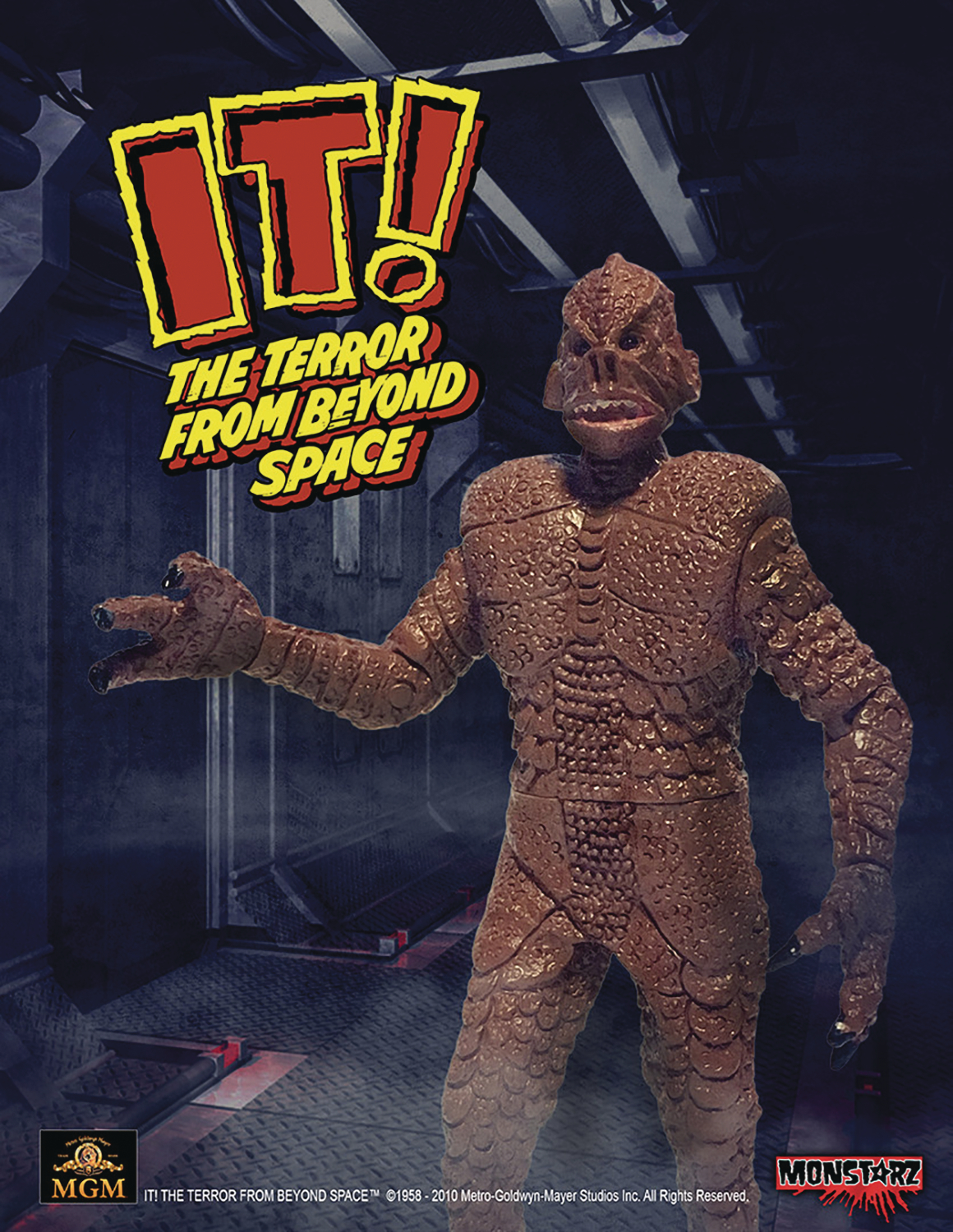 IT TERROR FROM BEYOND SPACE RED 3-3/4IN RETRO AF  (FEB1