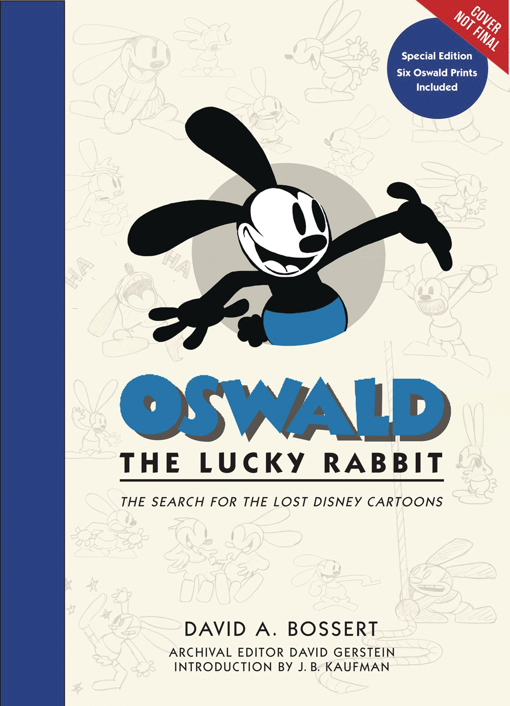 OSWALD LUCKY RABBIT SEARCH LOST DISNEY CARTOONS LTD ED