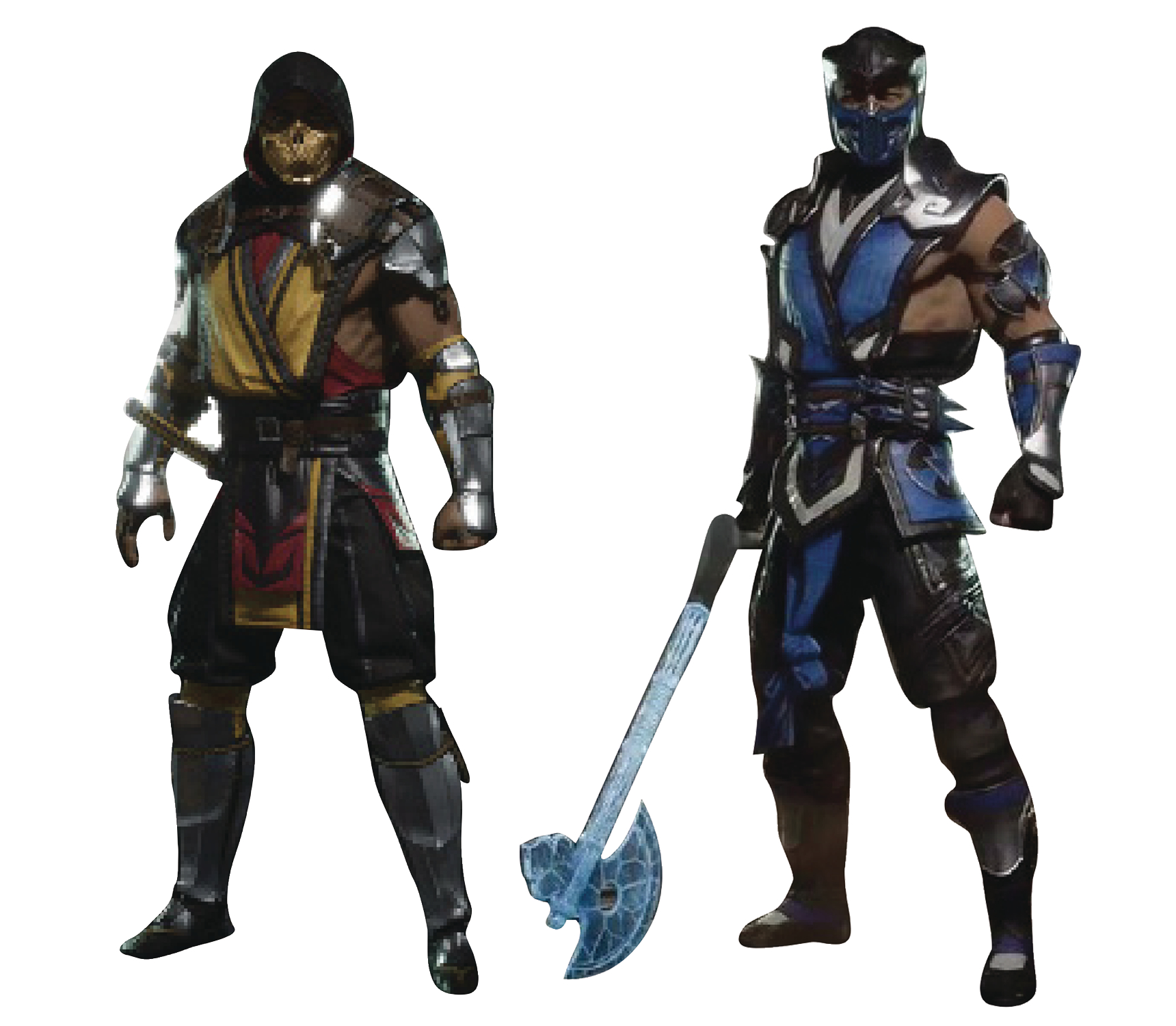 MORTAL KOMBAT SCORPION/SUB-ZERO 7IN AF ASST