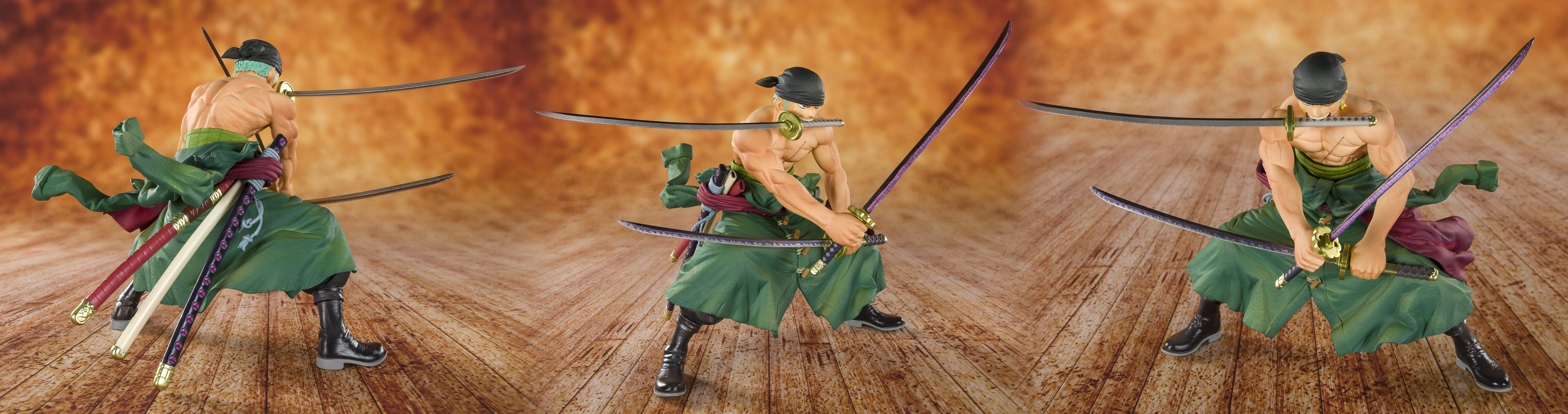 ONE PIECE PIRATE HUNTER ZORO FIGUARTS ZERO AF  (MAR1981