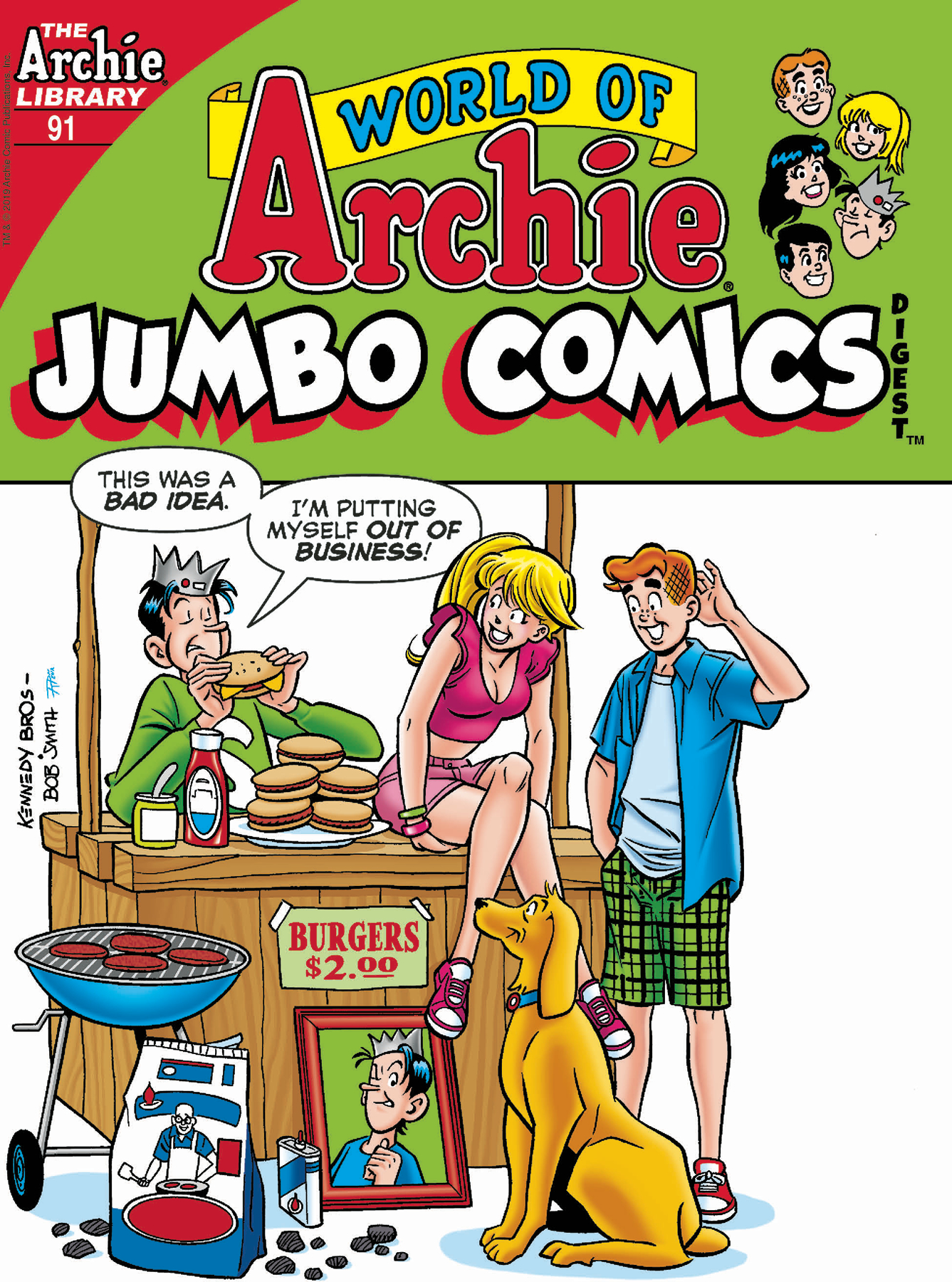 WORLD OF ARCHIE JUMBO COMICS DIGEST #91