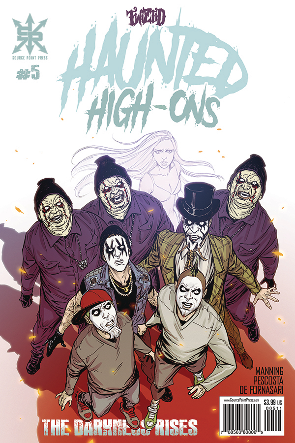 TWIZTID HAUNTED HIGH ONS DARKNESS RISES #5 (MR)