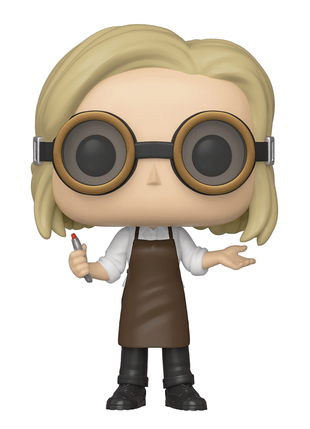 POP TV DOCTOR WHO 13TH DOCTOR W/GOOGLES VIN FIG