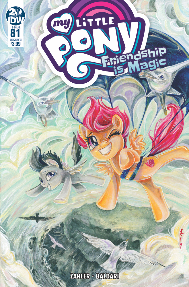 MY LITTLE PONY FRIENDSHIP IS MAGIC #81 CVR B RICHARD