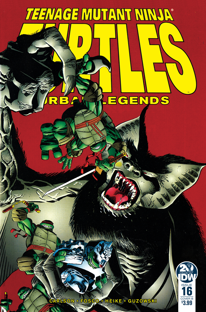 TMNT URBAN LEGENDS #16 CVR B FOSCO & LARSEN