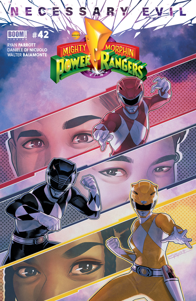 MIGHTY MORPHIN POWER RANGERS #42 MAIN