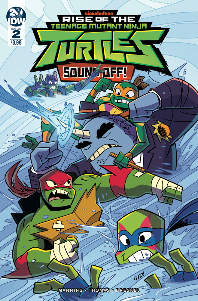 TMNT RISE OF TMNT SOUND OFF #2 (OF 3) CVR A THOMAS