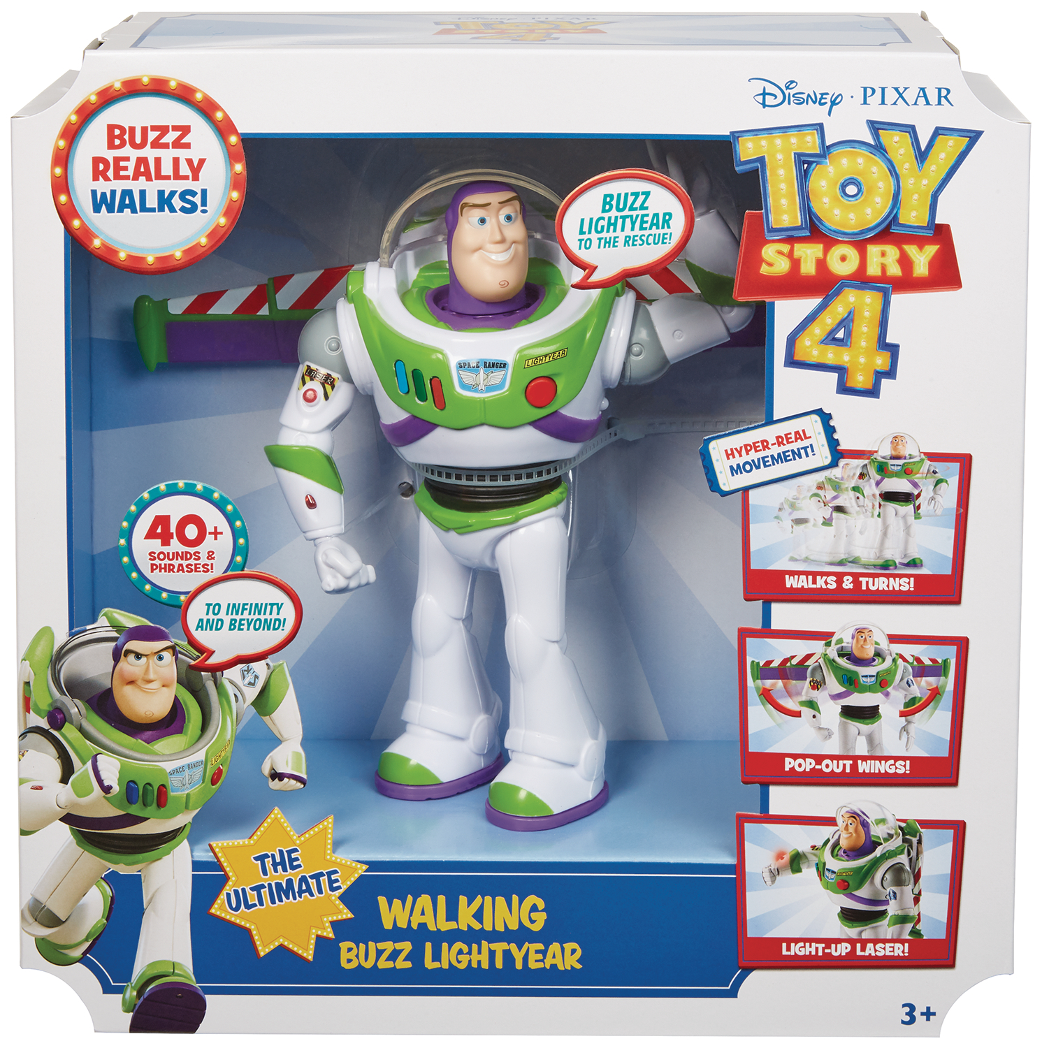 TOY STORY 4 ULTIMATE WALKING BUZZ LIGHTYEAR FIG CS