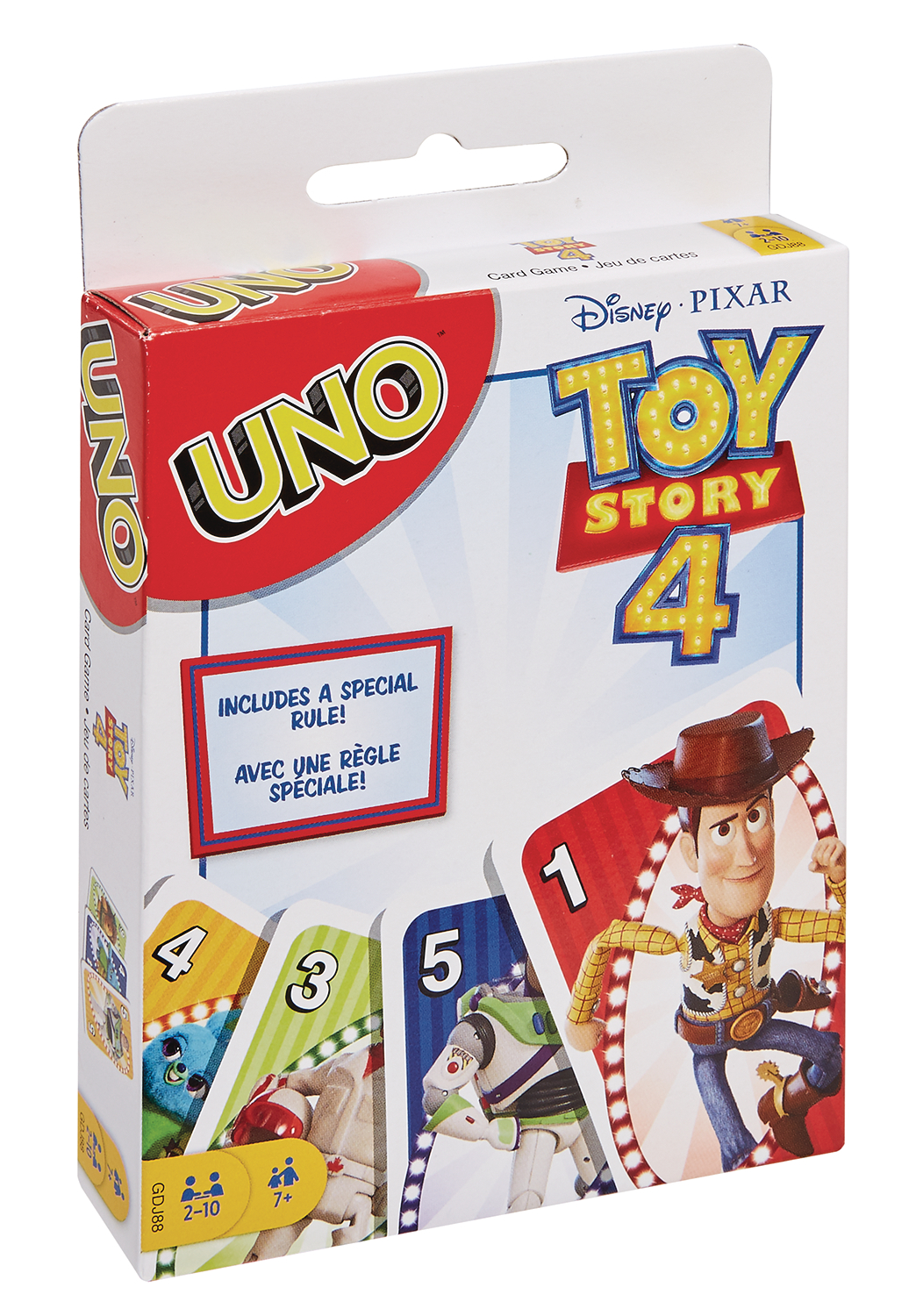 UNO TOY STORY 4 CARD GAME CS  (MAR198425)