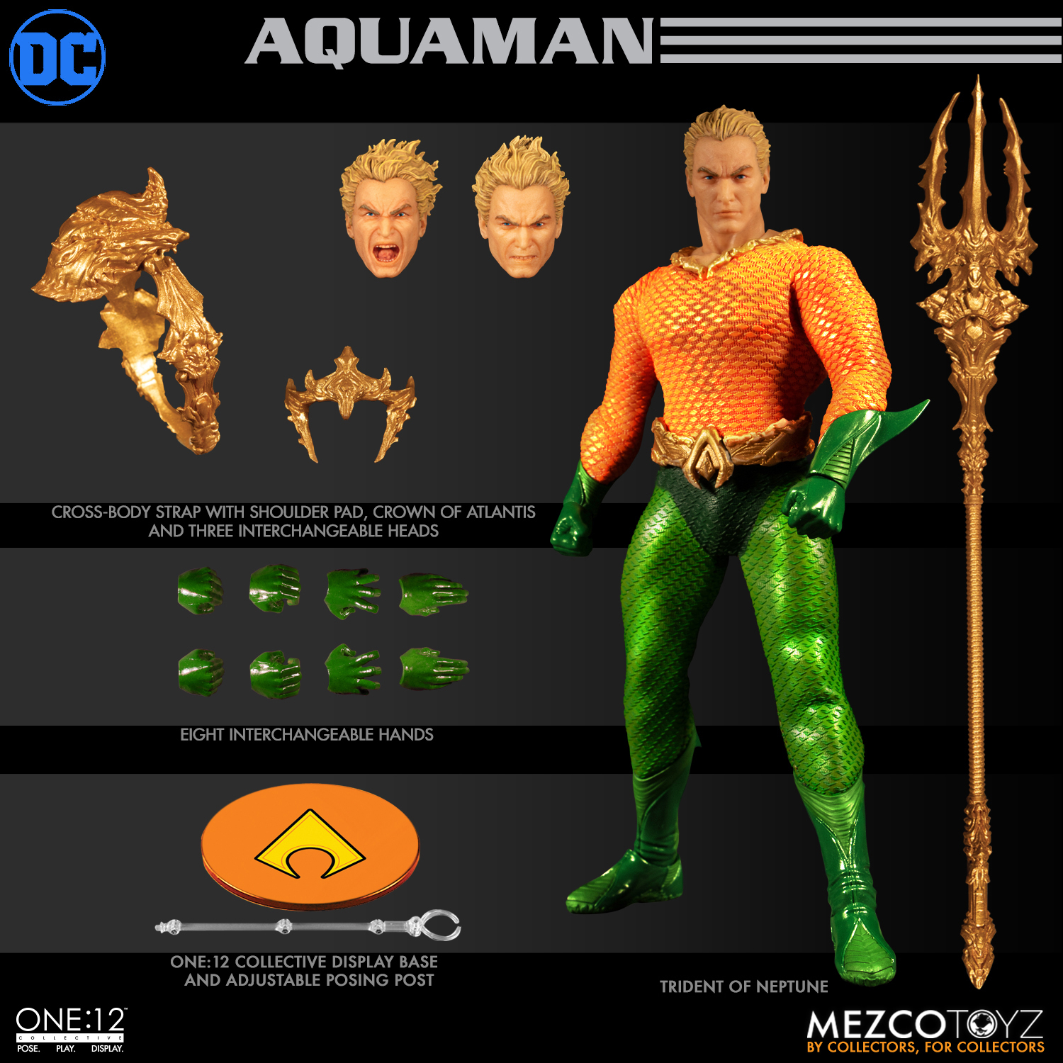 ONE-12 COLLECTIVE DC AQUAMAN AF