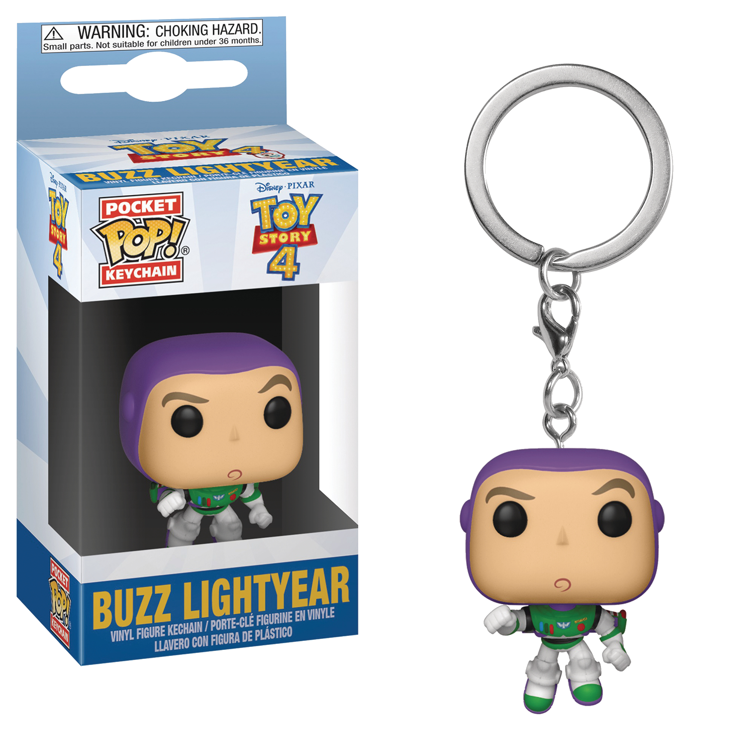 POCKET POP TOY STORY 4 BUZZ LIGHTYEAR KEYCHAIN