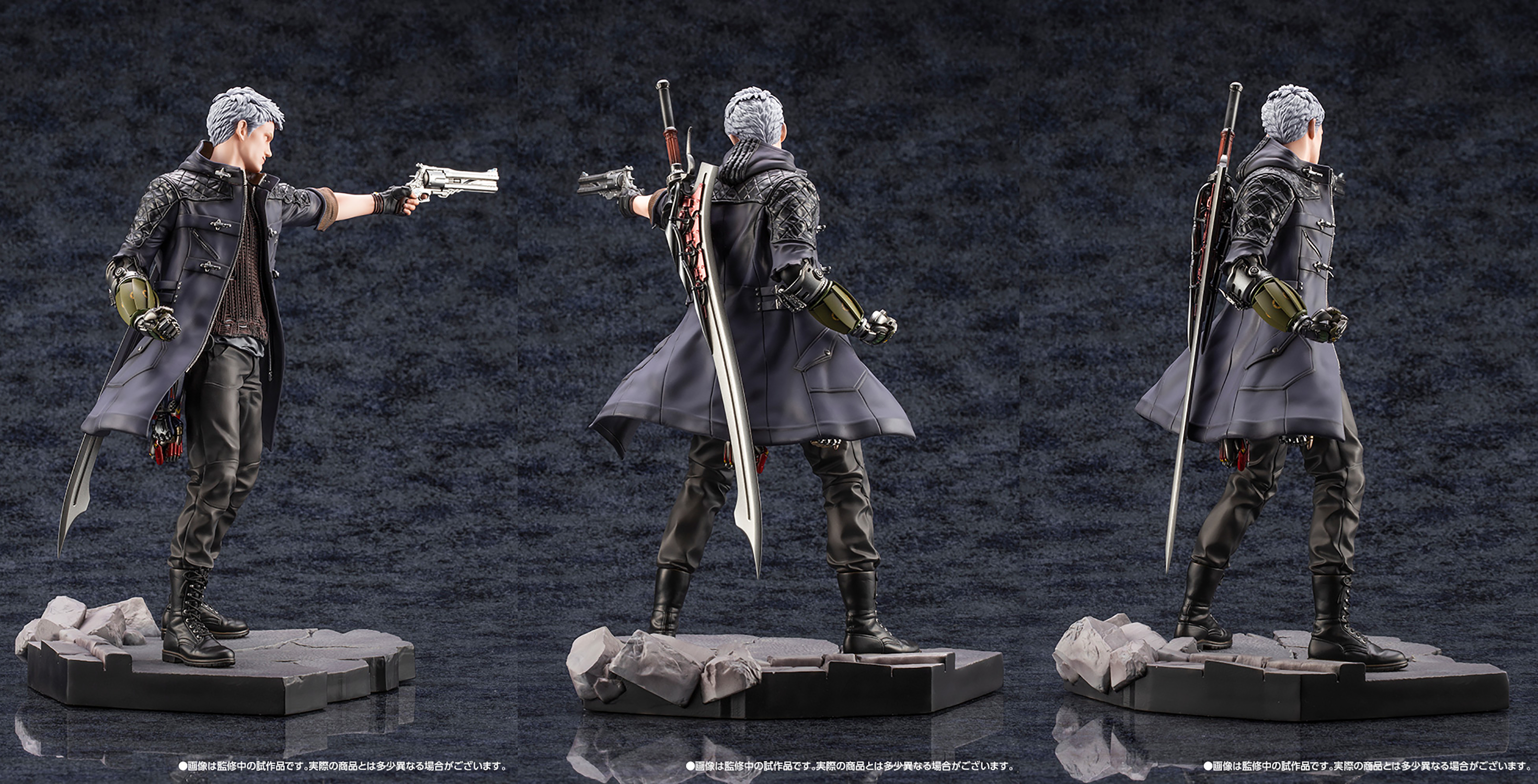 DEVIL MAY CRY 5 NERO ARTFX J STATUE  (MAR198423)