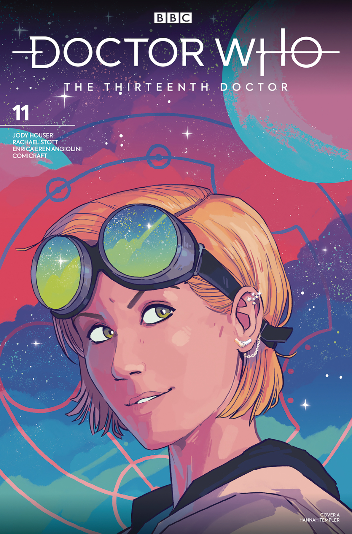 DOCTOR WHO 13TH #11 CVR A TEMPLER