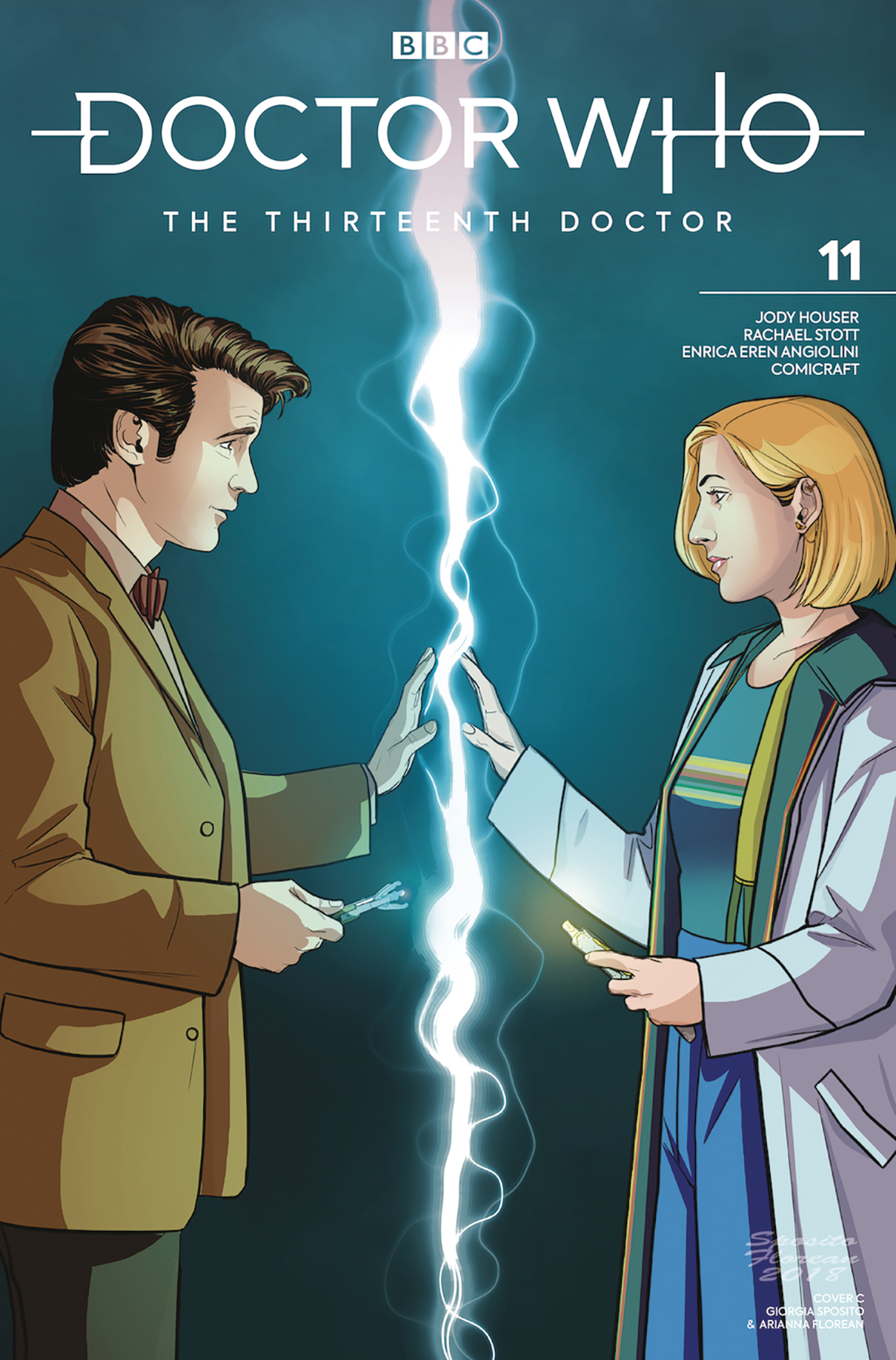 DOCTOR WHO 13TH #11 CVR C 11TH DOCTOR