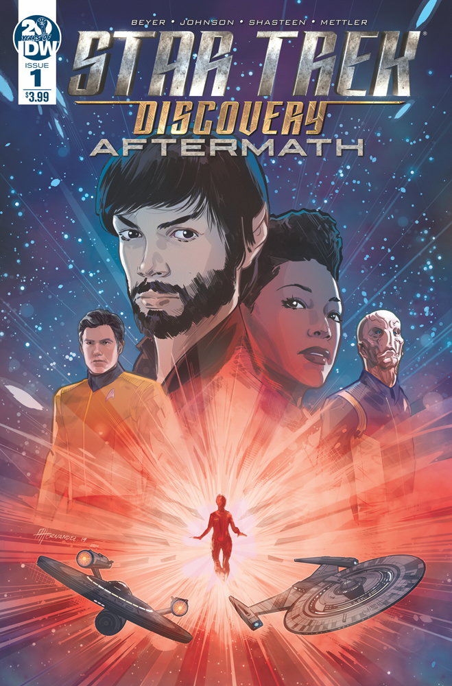 STAR TREK DISCOVERY AFTERMATH #1 (OF 3) CVR A HERNANDEZ