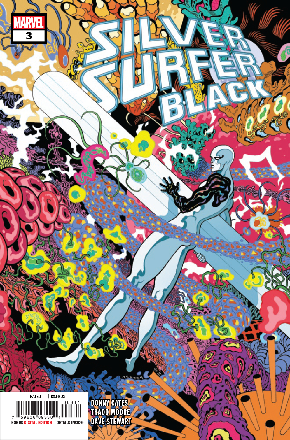 SILVER SURFER BLACK #3 (OF 5)