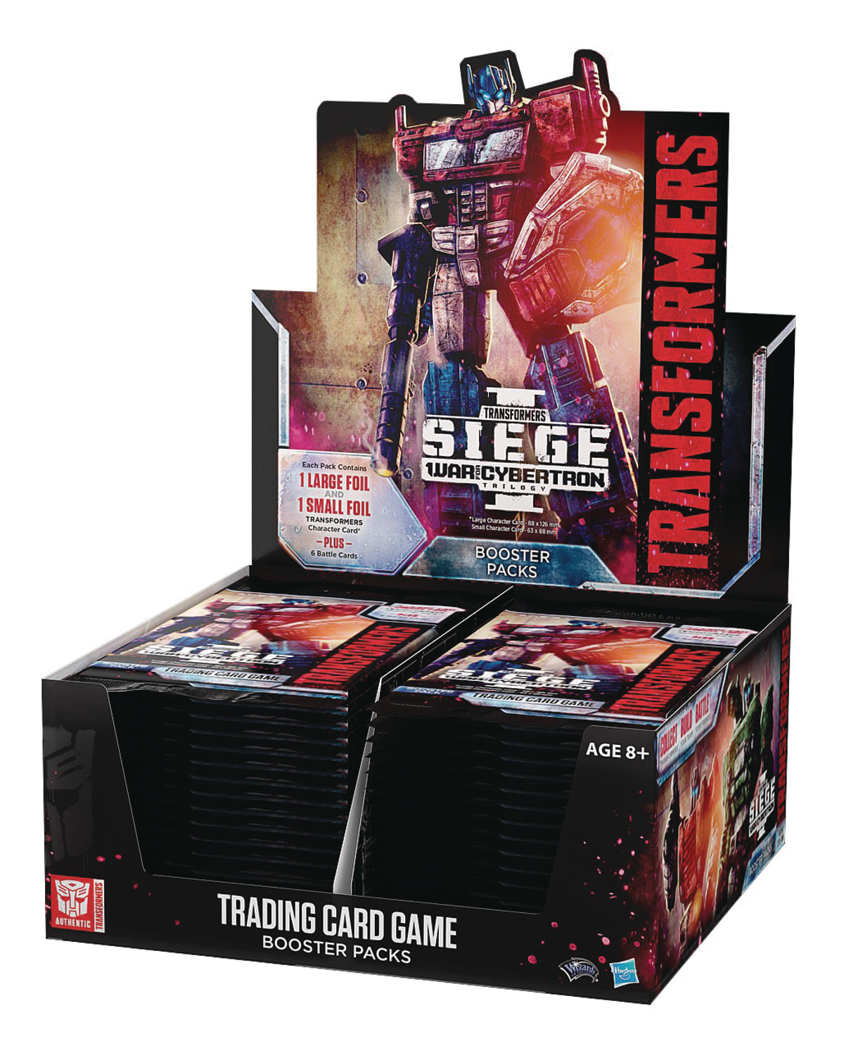 TRANSFORMERS TCG SEIGE BOOSTER DIS (30CT)