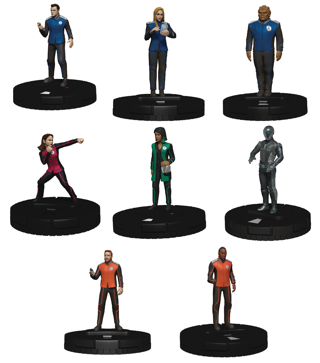 ORVILLE HEROCLIX 2-PLAYER STARTER SET
