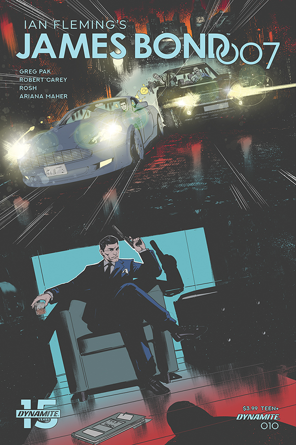 JAMES BOND 007 #10 CVR D CAREY