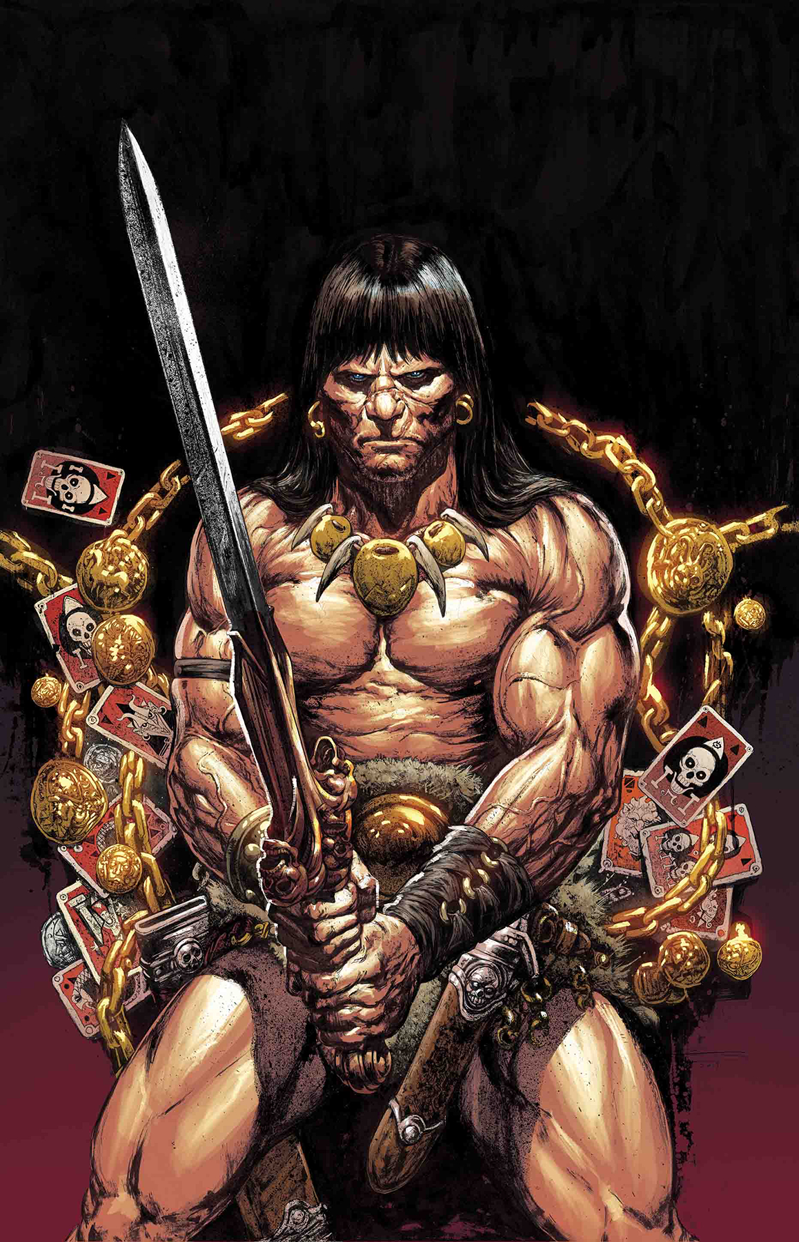SAVAGE SWORD OF CONAN #8 MANCO VAR