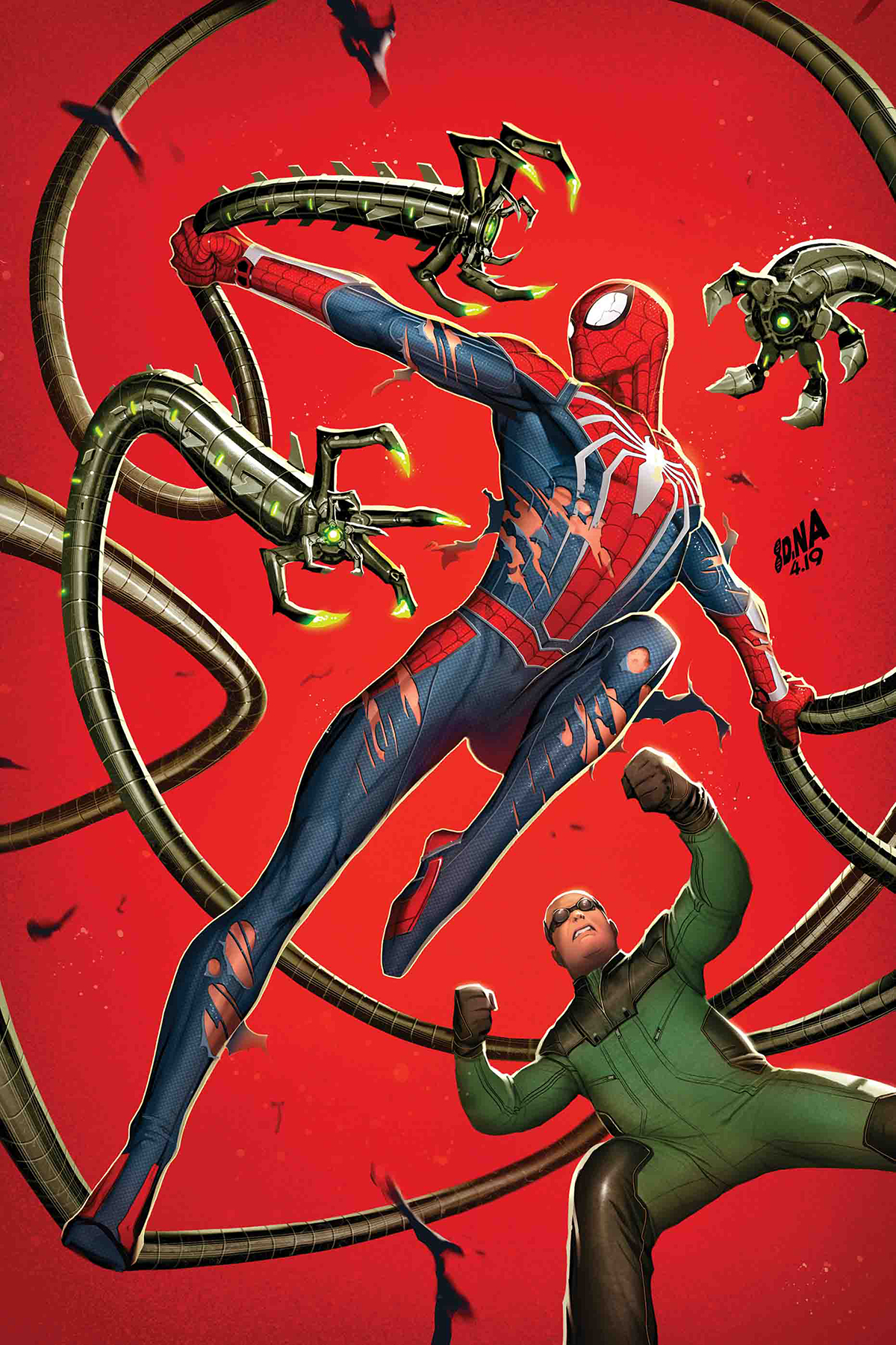 Marvel Comics 2019 Spider-Man City at War #6 of 6
