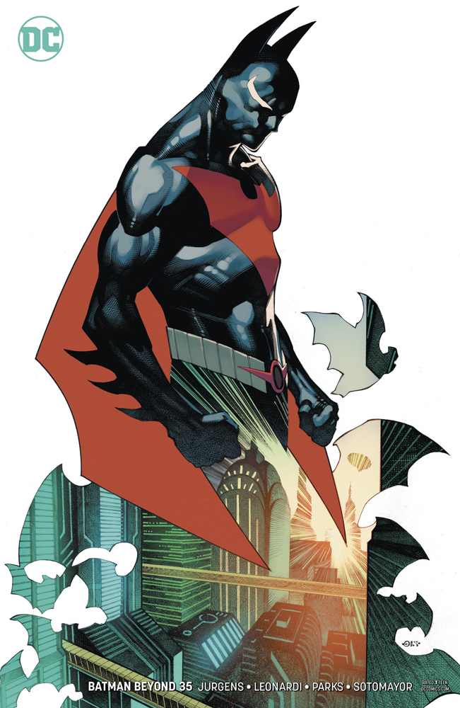 BATMAN BEYOND #35 VAR ED