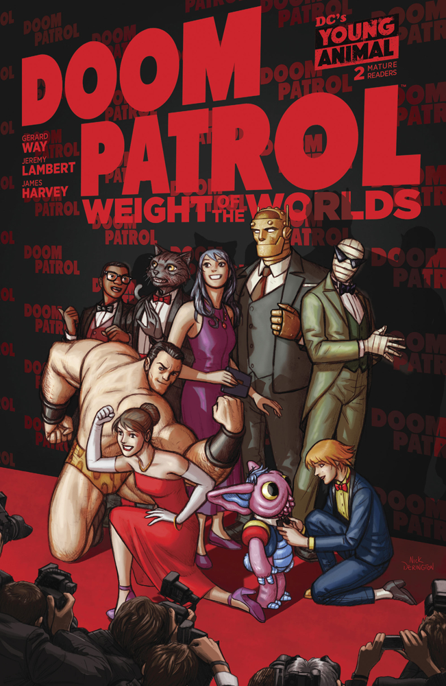 DOOM PATROL WEIGHT OF THE WORLDS #2 (MR)