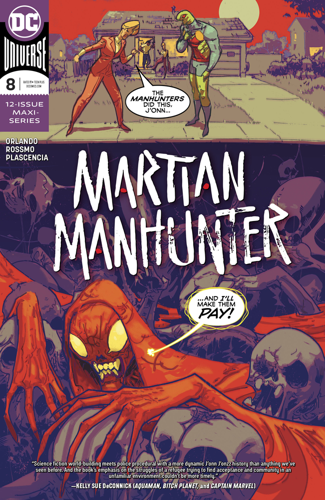 MARTIAN MANHUNTER #8 (OF 12)