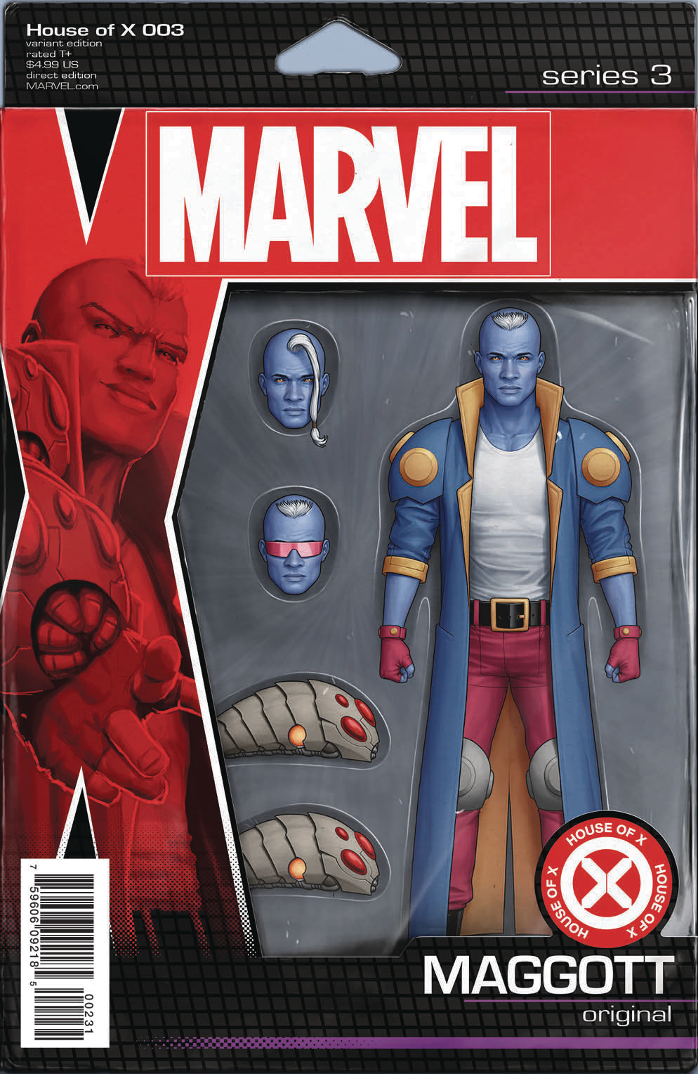 HOUSE OF X #3 (OF 6) CHRISTOPHER ACTION FIGURE VAR