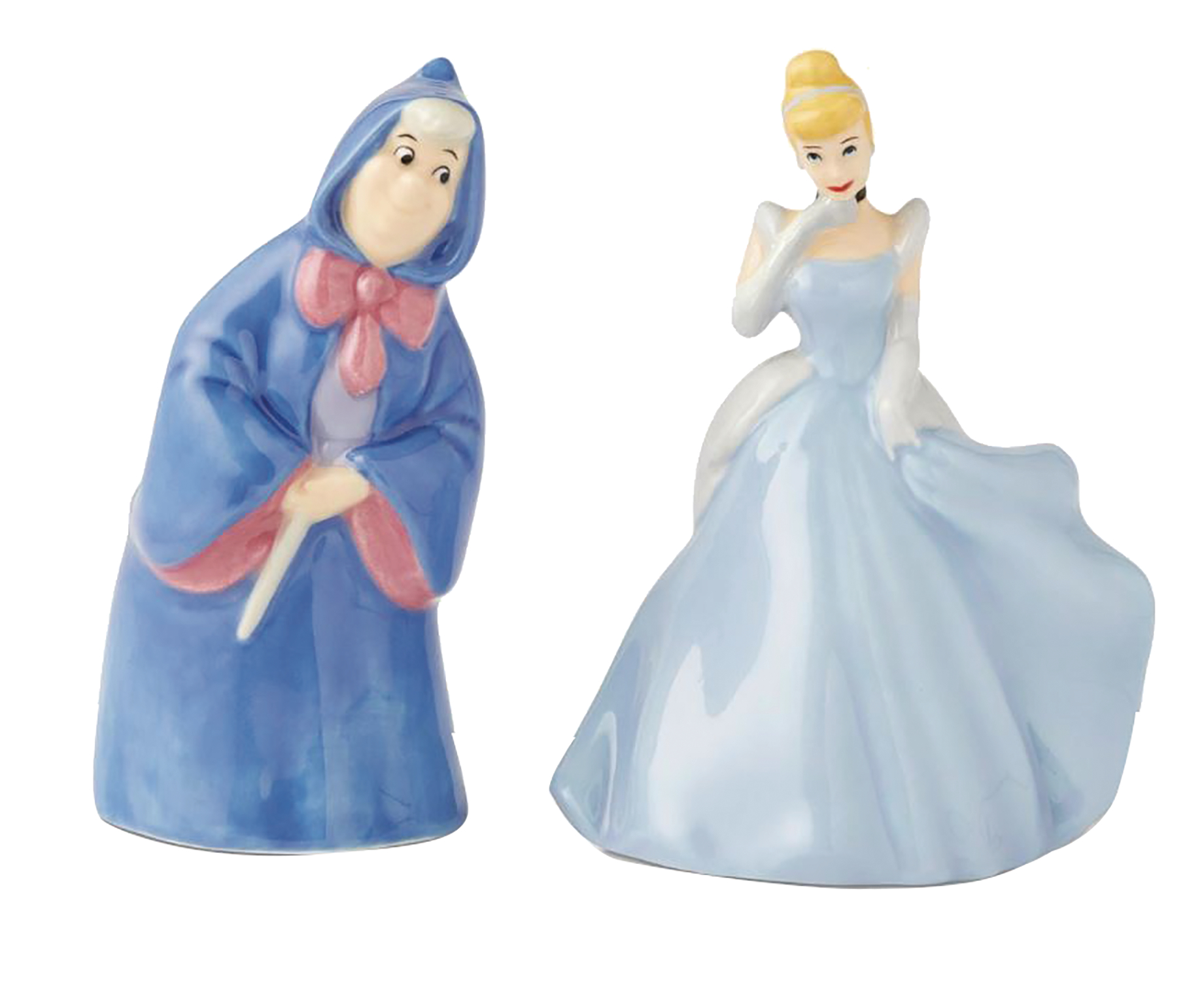 DISNEY CINDERELLA & FAIRY GODMOTHER S&P