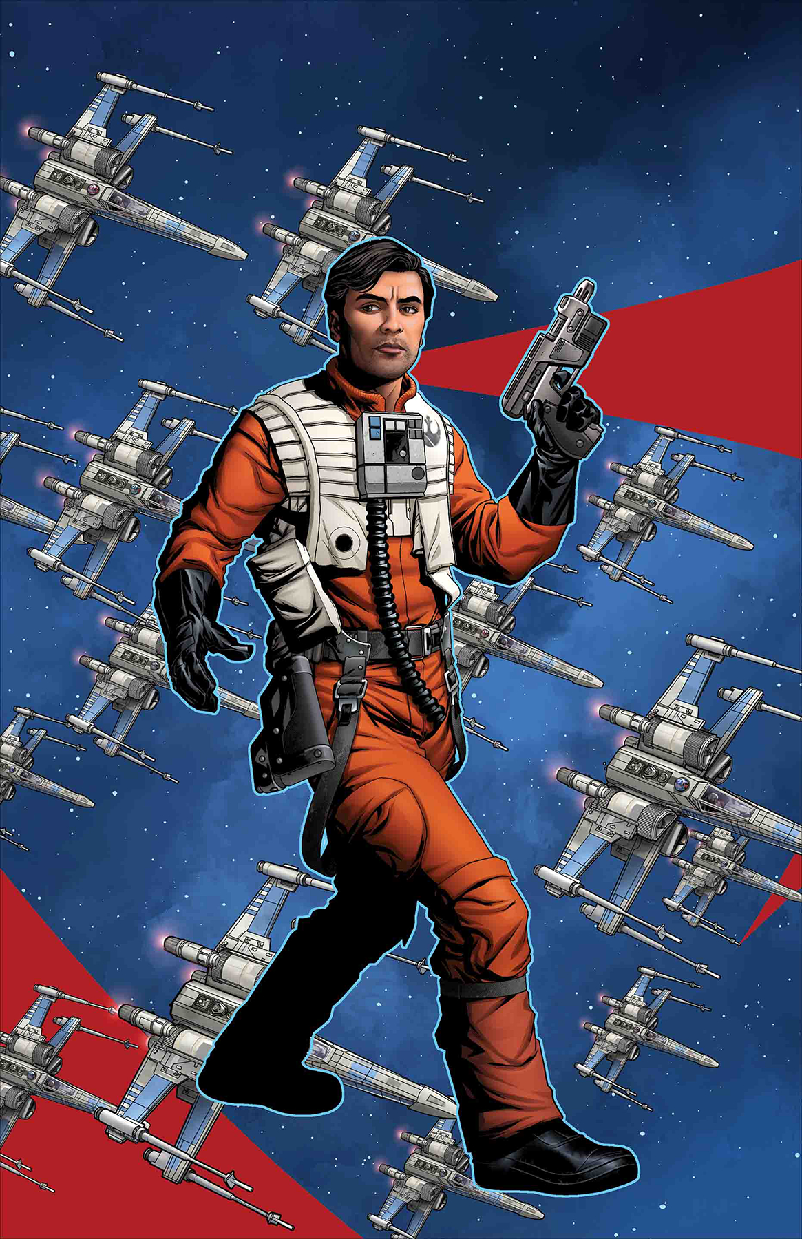 STAR WARS AOR POE DAMERON #1 MCKONE PUZZLE PC VAR
