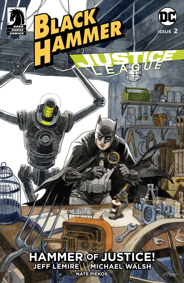 BLACK HAMMER JUSTICE LEAGUE #2 (OF 5) CVR B THOMPSON