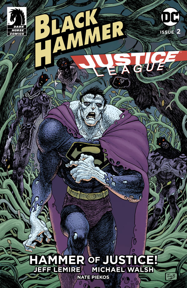 BLACK HAMMER JUSTICE LEAGUE #2 (OF 5) CVR C BERTRAM